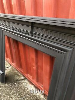 Large Cast Iron Fire Surround Suit Woodburner DELIVERY FREE OR £35 Uk
