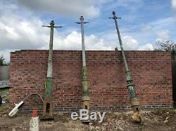 ORIGINAL English street light Cast Iron Lamp Post