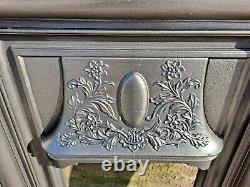 Original Antique Victorian Cast Iron Combination Fireplace 1890