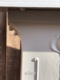 Original Restored Antique Edwardian/Victorian Cast Iron Bedroom Fireplace