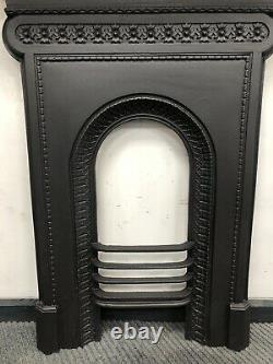 PAIR Available Victorian Cast Iron Fireplace FLAT WALL DELIVERY £35 UK