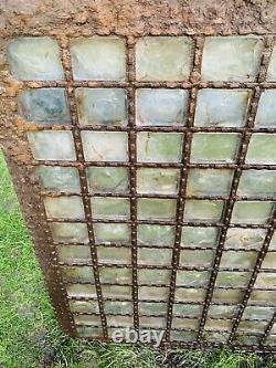 Pludelux Cast Iron Pavement Light, Lightwell Victorian 1850s, Hahward Bros