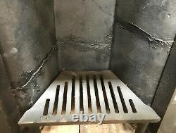 RECLAIMED LATE VICTORIAN CAST IRON BEDROOM COMBINATION FIRE Ref FC0086