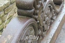 Reclaimed Original Victorian Period Cast Iron Orangerie Warwick Reclamation