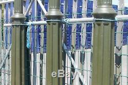 Reclaimed Restored Victorian Cast Iron Lamp Posts Warwick Reclamation