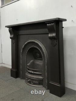 Refurbished Cast Iron Fireplace + Fire Surround Delivery Free Or £35 Most Uk