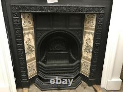 Repro Cast Iron Fire Place Victorian Style