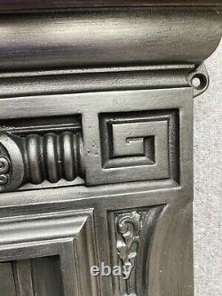 Restored Cast Iron Victorian / Edwardian Style Fireplace /fire Surround