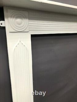 Stunning Antique Georgian cast iron fire Surround DELIVERY FREE OR £35 Uk