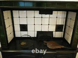 Stunning Antique Victorian Cast Iron Kitchen Cooking Range (Fully dismantled)