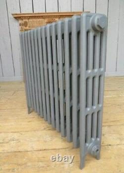 Victorian 4 Column Cast Iron Radiator to Go 14 Sections Long Next Day Delivery