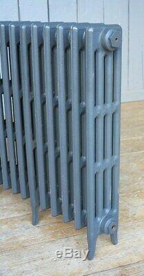 Victorian 4 Column Cast Iron Radiator to Go 16 Sections Long Next Day Delivery