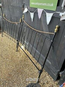 Victorian Brass & Iron 46 Double Bed Frame
