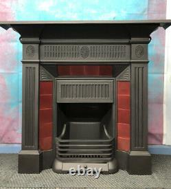 Victorian Cast Iron Fire / Fireplace DELIVERY free or £35 Most Uk