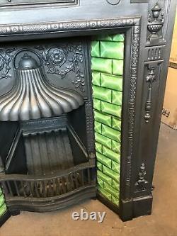 Victorian Cast Iron Fireplace
