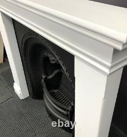 Victorian Cast Iron Fireplace And New Surround DELIVERY free or £35 most UK