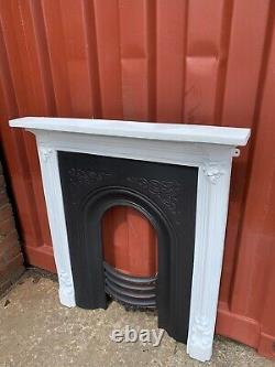 Victorian Cast Iron Fireplace + Cast Iron Fire Surround £35 delivery Or Free