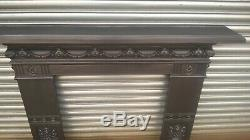 Victorian Cast Iron Fireplace Mantel Surround ideal for a woodburner