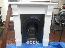 Victorian Cast Iron Fireplace & Surround