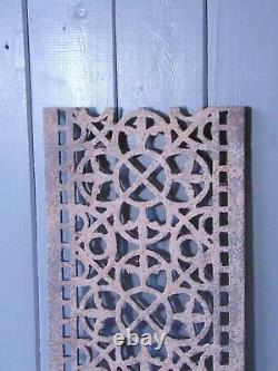 Victorian Cast Iron Grill Grille Church Greenhouse Vent Air Floor Vent 7