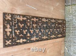 Victorian Cast Iron Grill Vent THESE ARE ORIGINAL ANTIQUE NOT REPRODUCTIONS