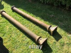 Victorian Cast Iron Pillars