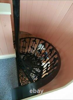 Victorian Cast Iron Spiral Stair Case