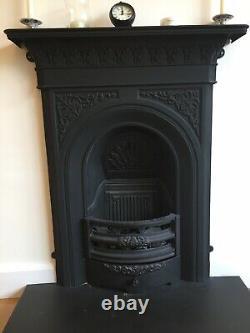 Victorian Edwardian / Cast Iron Fireplace