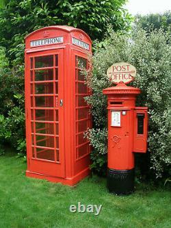 Victorian GPO Pillar Box 1895 with Stamp Vending Machine not k6 phone box