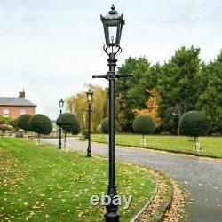 Victorian Lamp Post Black 2.7m