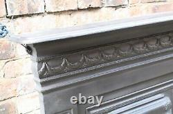 Victorian Style Cast Iron Combination Fire