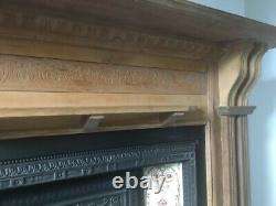 Victorian Style Cast Iron Fireplace
