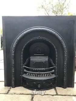 Victorian Style Cast Iron Fireplace / Fire Surround