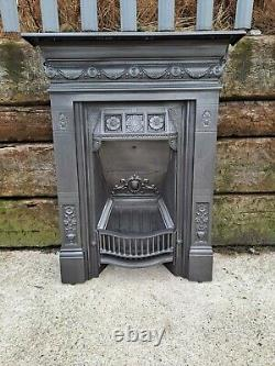 Victorian cast iron Combination all in one fireplace