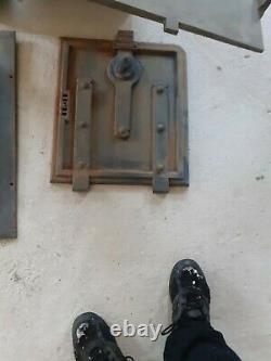 Victorian cast iron range