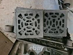 Vintage Cast Iron Spiral Staircase Bespoke Heavy Duty Victorian Style Tread