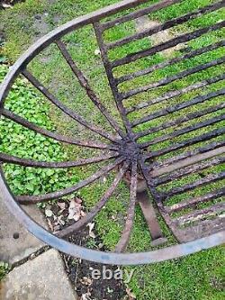 Vintage Cast Iron garden planter