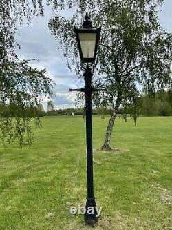 X4 USED 2.7m Black Victorian Lamp Post